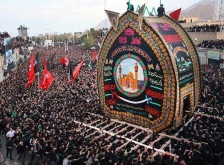 میراث عاشورا: مراسم نخل برداری در یزد