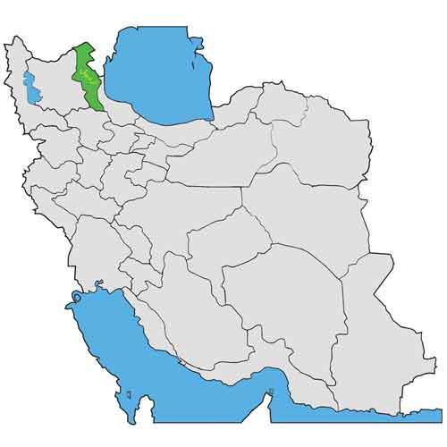 اردبیل در ایران