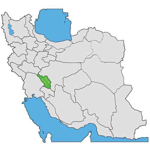 چهار محال بختیاری در ایران