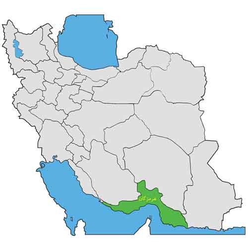 هرمزگان در ایران